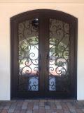 Windowsデザインの贅沢なアメリカの標準鉄のグリルの出入口