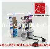 Farol elevado H4 do diodo emissor de luz da ESPIGA do lúmen 8000lumen elevado - baixo feixe