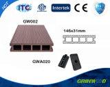Materiais da madeira plástica da madeira serrada da construção/WPC