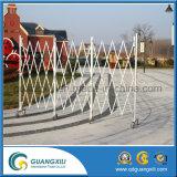 Frontière de sécurité en aluminium horizontale portative pressante annexe de véhicule de sûreté
