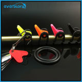 Canne à pêche Hook Keeper Lure Spoon Bait Treble Holder Crochir les crochets Rod Shackle Rock Rafting Tackle Accessory