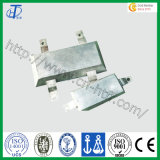 ISOの証明書犠牲的な亜鉛合金の陽極