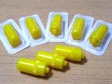 Casquillo amarillo médico de la heparina del bloqueo de Luer no reutilizable