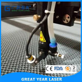 Миниое питьевое вырезывание и гравировальный станок лазера для ткани