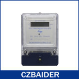 Base en plastique de watt de puissance d'énergie de mètre électronique monophasé de tension (DDS2111)