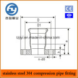 Edelstahl Pipe Press Fittings ein Type Flange Joint