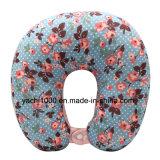 Супер мягкой подушка шеи Spandex напечатанная тканью