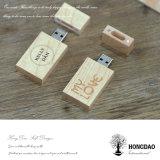 Hongdao는 나무 상자 _E를 포장하는 USB를 가진 USB 섬광 드라이브 8g 16g를 주문을 받아서 만들었다