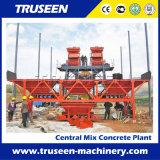 Máquina Conjoint da construção Hzs35-2, planta de mistura do concreto pré-fabricado