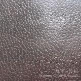 Tessuto del cuoio del poliestere della pelle scamosciata di Microfiber con bronzare processo