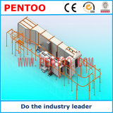 Il ventilatore di alta qualità parte la linea di produzione del rivestimento della polvere