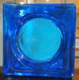 Blok van het Glas van het Huis van het Bouwmateriaal het Decoratie Aangemaakte (Overzeese golf)