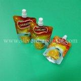 Doypack de empacotamento personalizado com sucos de fruta do bico
