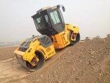 Compacteur vibratoire de plaque de route de double tambour hydraulique de 10 tonnes (JM810H)