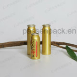 Golden Aluminium Aerosol Can for Waterproof Oil Mist Spray (PPC-AAC-040)