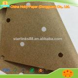 Papel perforado perforado de Kraft como uso de papel Kraft de la capa inferior en la máquina de corte del CAD