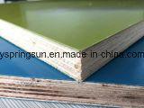 a película plástica de 18mm enfrentou a madeira compensada