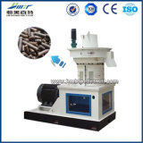 Ring Die Vertical Wood Sunflower Husk Biomassa Combustível Wood Sawdust Grass Alfalfa Bamboo Palm Fibra Cocon Pellet Machine