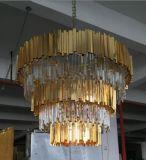 De moderne Lamp van de Kroonluchter van het Kristal van het Staal (wh-6651Z)