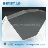 Imán de cerámica permanente de la ferrita para el separador magnético, motor, freno