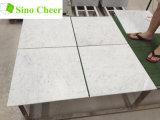 Il marmo bianco italiano di 30X30 Cararra copre di tegoli il prezzo