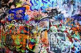 2017新しい落書きポスター壁の芸術の綿プリント映像