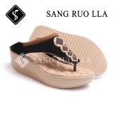 Chaussures partielles en gros de sandales et chaussures plates pour femmes avec clip Toe