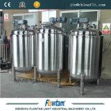 Réservoir de mélange d'alimentation revêtue de la chaleur d'acier inoxydable