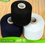 Hilo de algodón reciclado de Nm10s (ne6s) para el guante que hace punto
