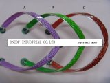 Varie cinghie del PVC di stile di modo di disegno per il flip-flop del pistone delle donne (TM001)