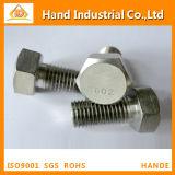 Inconel 625 2.4856 parafuso cheio do Hex da linha de N06625 DIN933