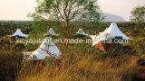Tenda di lusso di safari della tela di canapa con grande stanza