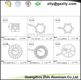 Аудиоий Heatsink профиля строительного материала алюминиевое