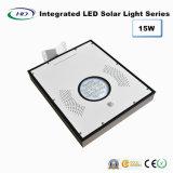 15W PIR 센서 통합 LED 태양 정원 빛