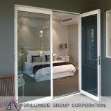 El aluminio abisagró la ventana/la ventana con bisagras marco