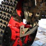Pistes en caoutchouc de camion de système de piste de piste de moto de constructeur de produit de conversion de nécessaires en caoutchouc de système