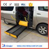 Elevatore di sedia a rotelle automobilistico per Van o MPV con Cecertificate e capienza di caricamento 350kg
