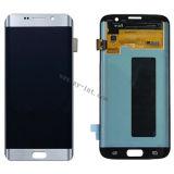 Mobile LCD para iPhone Samsung S7 LCD Asamblea Blanco Negro y Oro