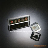 عالة واضحة أكريليكيّ بلّوريّة مكافأة لوح معدنيّ ([بتر-ي] 7039)