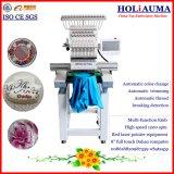 中国の工場直売の刺繍機械単一ヘッド15カラーコンピュータの刺繍機械
