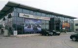 Ce Certificado Prefab Aço Estrutural Moderno 4s Car Exhibition Design Showroom