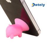 De Houder van de Tribune van het Silicone van Piggy voor iPhone Samsung
