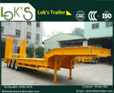 tonelada do Semi-Trailer 60-80 de 18m 3axles Lowbed