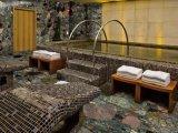 Mosaico de nuvens coloridas chinesas, Decoração Home Stone Table and Stair