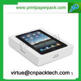 Rectángulo de regalo modificado para requisitos particulares impresión Wearproof de la cartulina de la alta calidad para el empaquetado del iPad