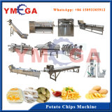 Fait de la pleine chaîne de production semi automatisée de pommes frites d'acier inoxydable
