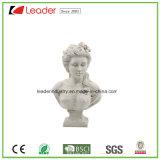 senhora decorativa Escultura da falência de 31cm Polyresin para a decoração do gramado