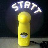 주문 로고 (3509)를 가진 최신 광고 LED 번쩍이기 소형 팬