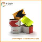 3m*10m*50mx 4.5cm Farben-reflektierende Sicherheits-warnender Augenfälligkeit-Band-Film-Aufkleber-Rollenstreifen
