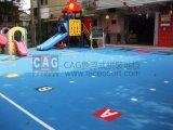 プロ環境の床の幼稚園の特別な床、モジュラーフロアーリング、連結のフロアーリング、携帯用床